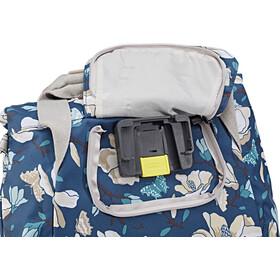 Basil Magnolia City Handlebar Bag 7L teal blue